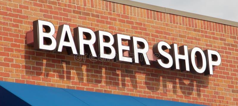 Barber Shop Sign royalty free stock photos