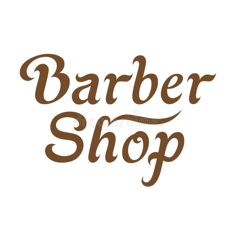 Barber Shop Signboard royalty illustrazione gratis