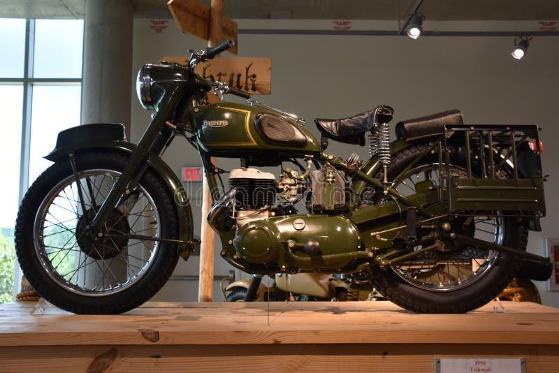 Barber Vintage Motorsports Museum in Leeds, Alabama stock afbeeldingen
