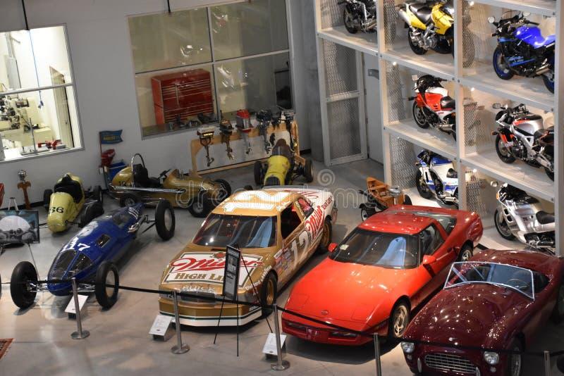 Barber Vintage Motorsports Museum a Leeds, Alabama immagini stock