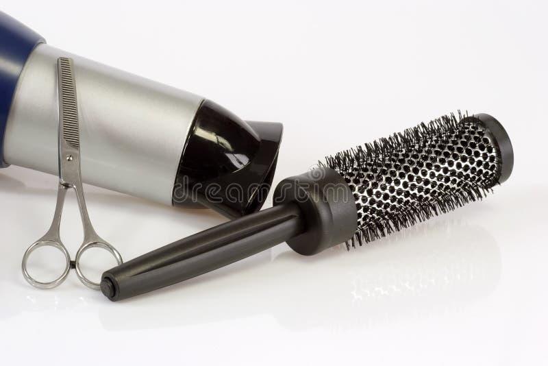 barberarehjälpmedel royaltyfria foton