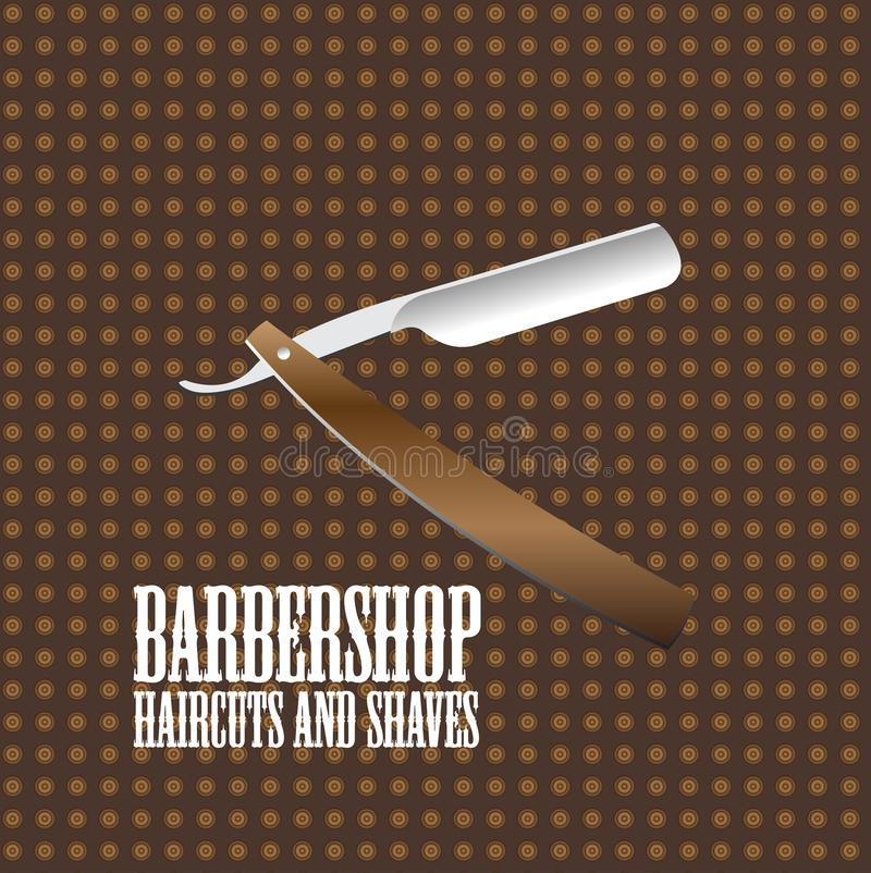 Barbershop logo vector image design template. Barbershop logo vector image stock photos