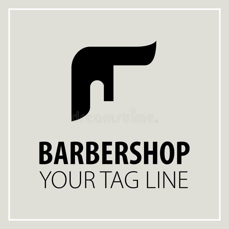Barbershop-pictogram stock illustratie