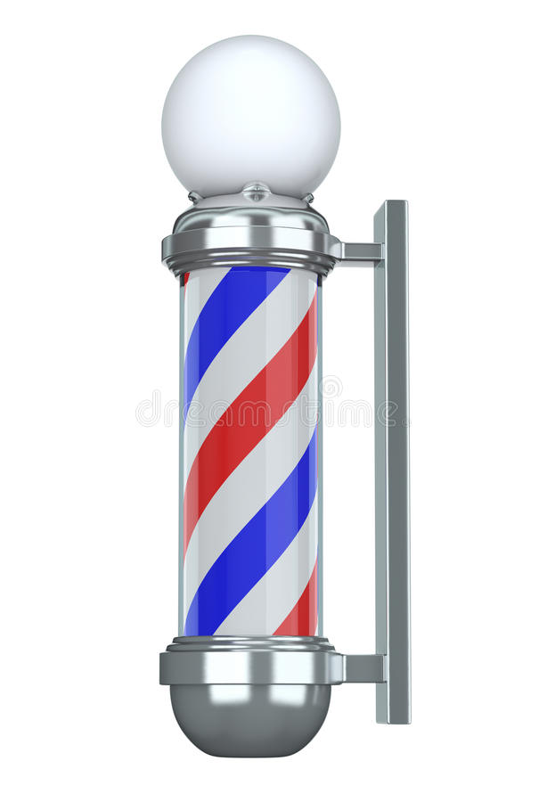 Free Barbershop Pole Royalty Free Stock Photo - 12977015