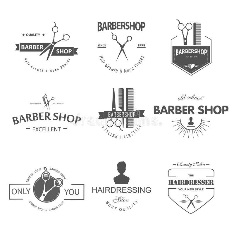 Barbershop royalty free illustration