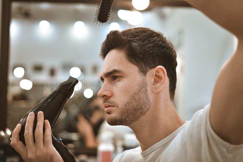 Barbes de rasage dans les barbercos photo libre de droits