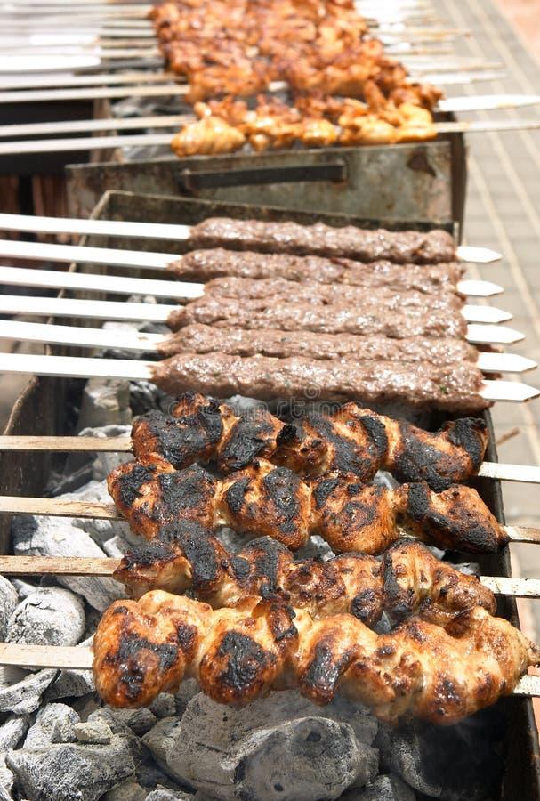 Download Barbie stock photo. Image of barbq, lamb, barbecue, arab - 119496