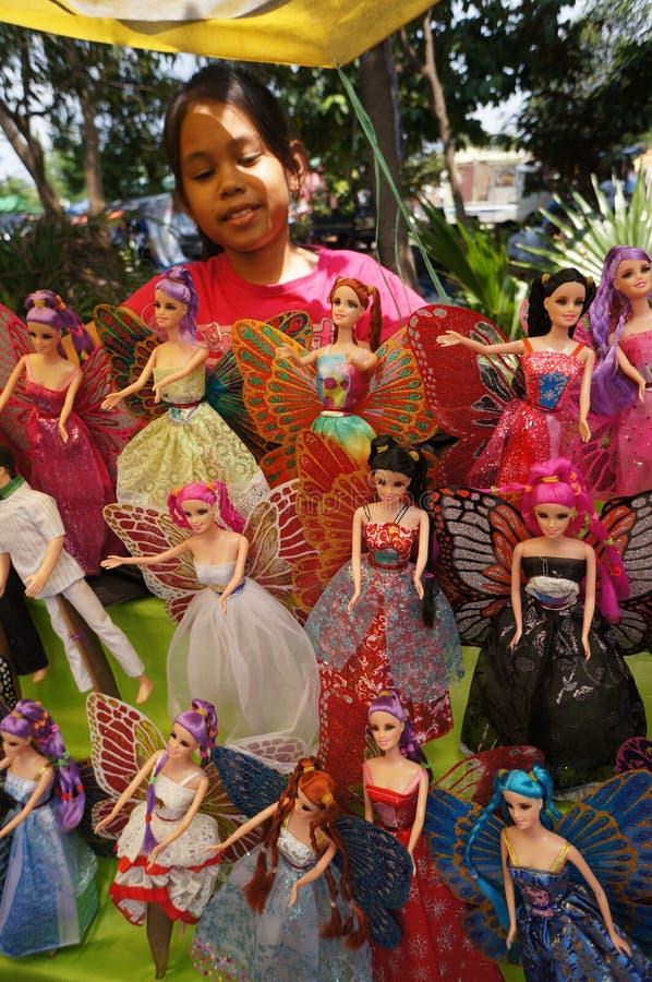 Barbie dockor arkivbild