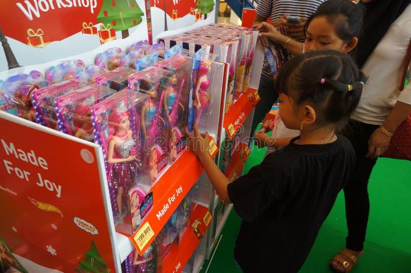 Barbie dockor royaltyfria bilder