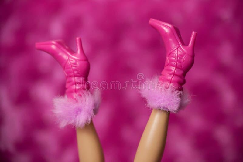 Barbie Doll Boots imagen de archivo