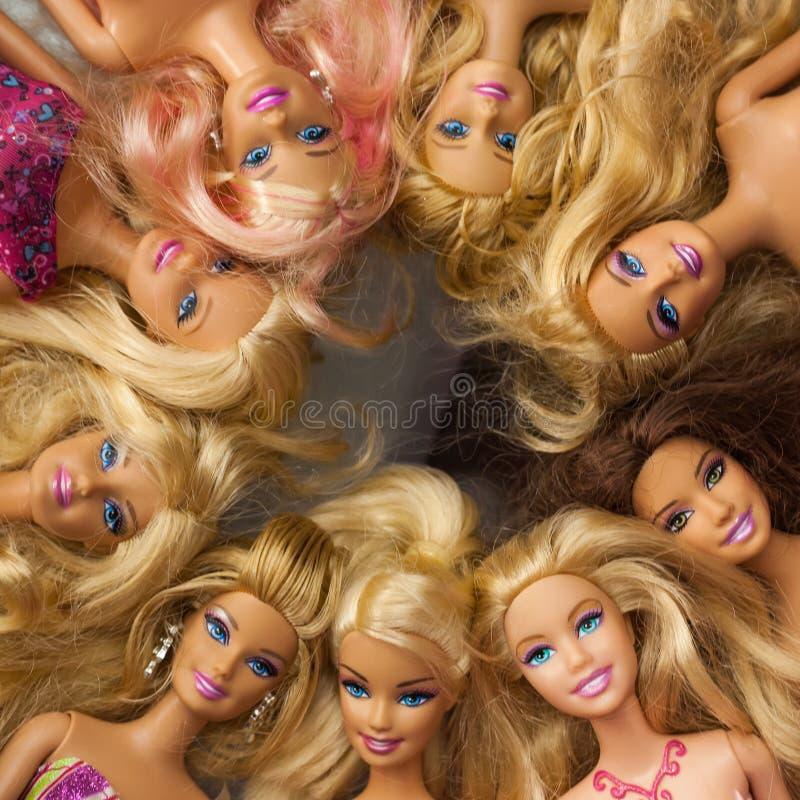 Barbie Doll Collection imagen de archivo libre de regalías