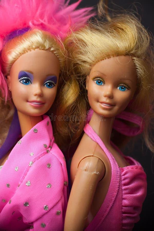 Barbie Dolls 1986 fotografía de archivo libre de regalías