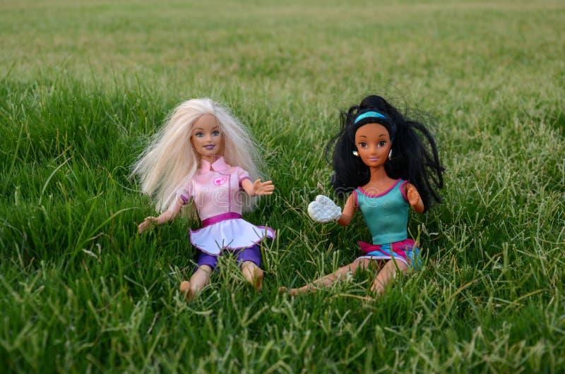 Barbie dziewczyny zdjęcie stock