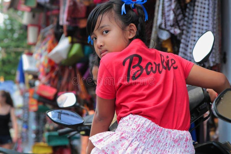 Barbie Girl en Ubud fotografía de archivo libre de regalías