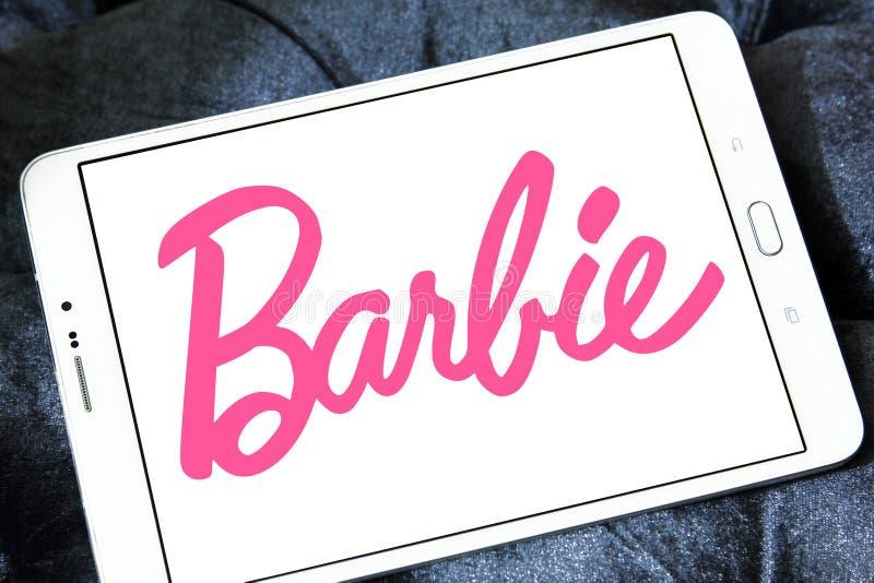 Barbie logo obrazy royalty free