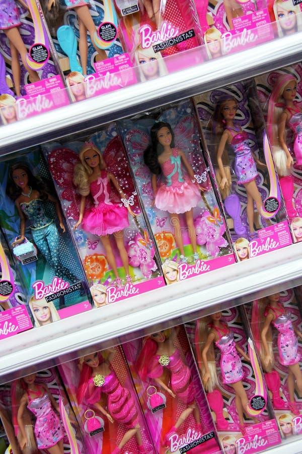 Barbie-Puppen stockbilder
