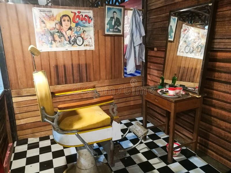 barbiere tailandese antico fotografia stock libera da diritti