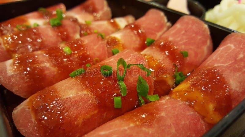BarBQ τα καλά τρόφιμα κοιτάζουν στοκ εικόνα