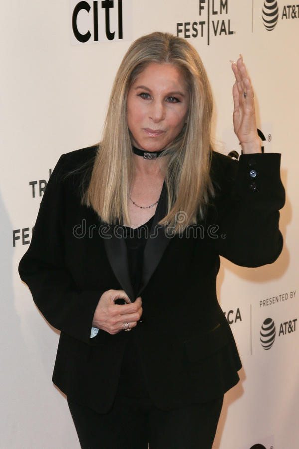 Barbra Streisand stockfoto