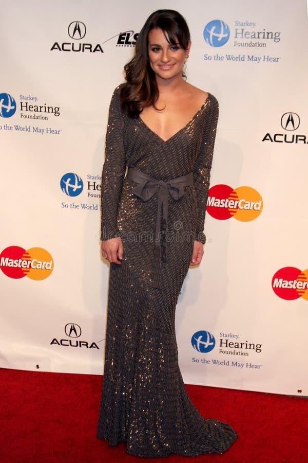 Barbra Streisand Lea Michele, Lea Michelle arkivbilder