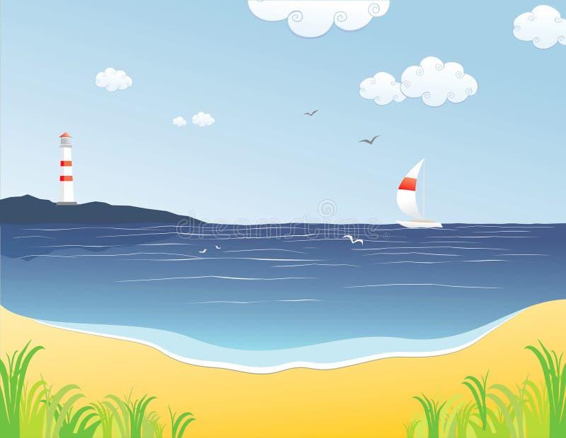 Barca royalty illustrazione gratis