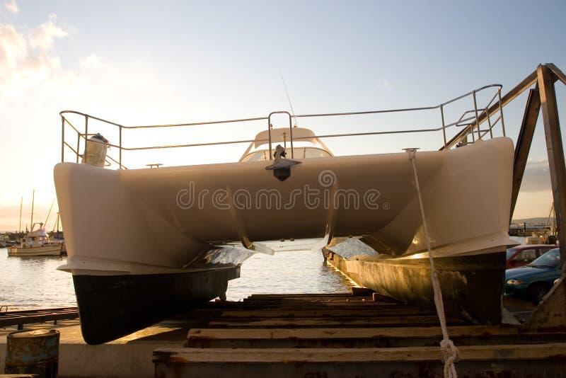 Download Barca #6 del capo fotografia stock. Immagine di piattaforma - 220130