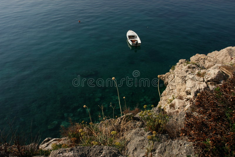 Download Barca immagine stock. Immagine di nessuno, trasporto, aperto - 7324287