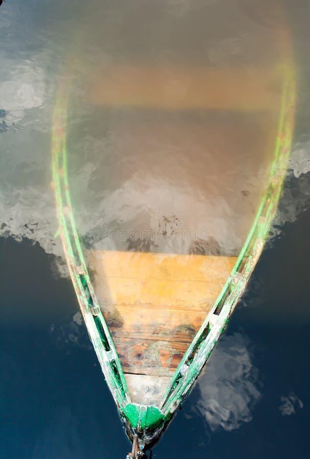 Barca affondata immagine stock libera da diritti