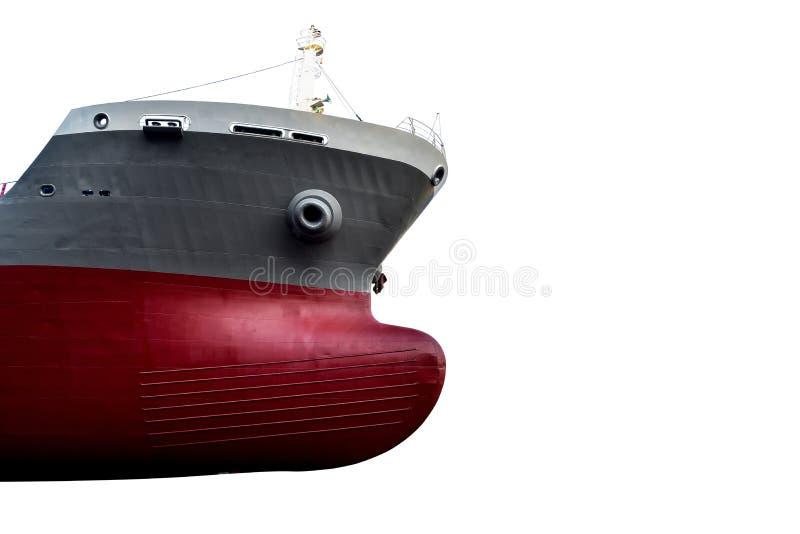 Barca anteriore o lato di andata della nave immagini stock libere da diritti
