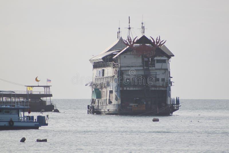 Barca a Bangkok, Tailandia fotografia stock