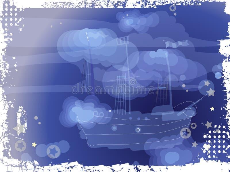 Barca dal sogno fotografie stock libere da diritti
