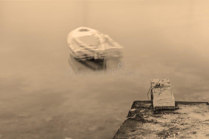 Barca del fantasma fotografia stock libera da diritti