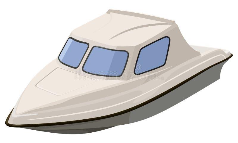 Barca del fiume White royalty illustrazione gratis