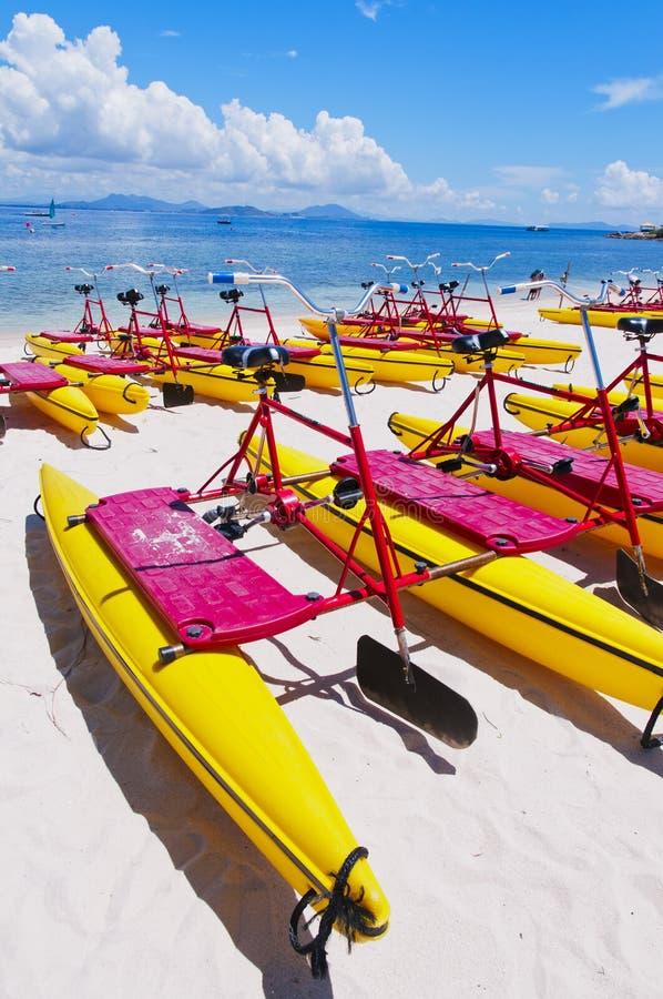 Barca del pedale fotografie stock libere da diritti