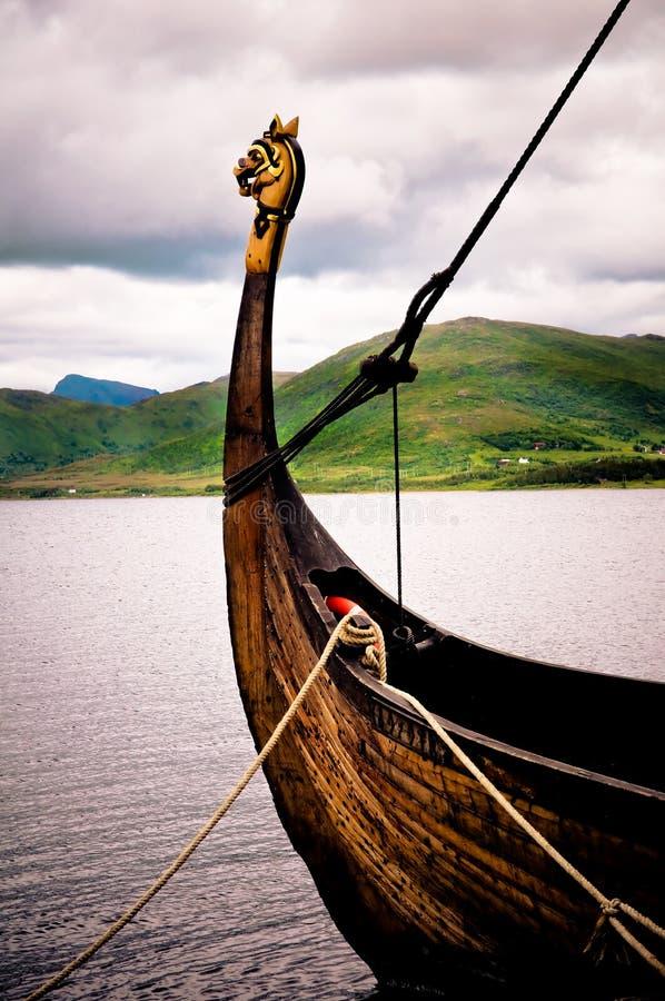 Barca del Vichingo immagini stock libere da diritti