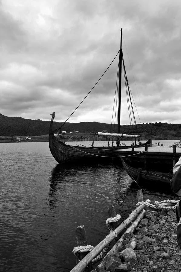 Barca del Vichingo immagini stock