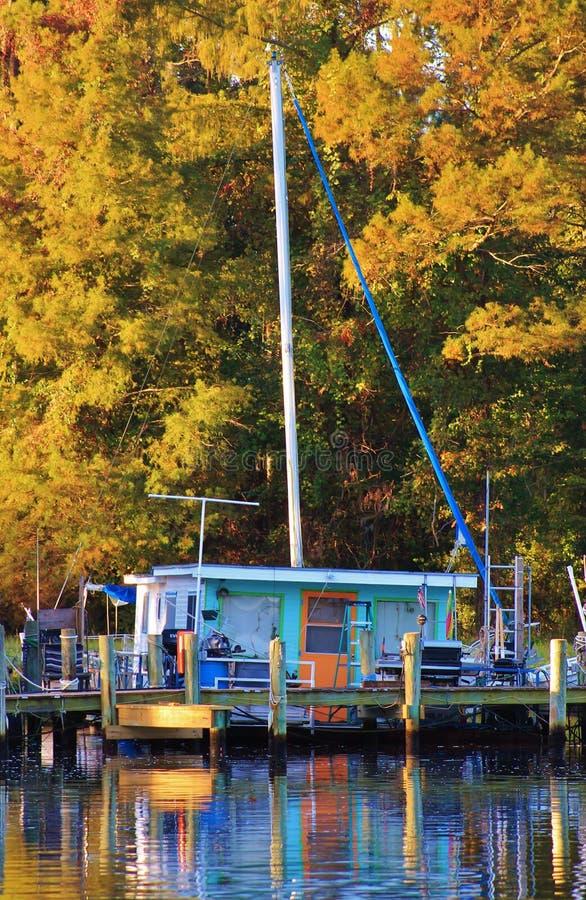 Barca della Camera dei colori fotografia stock