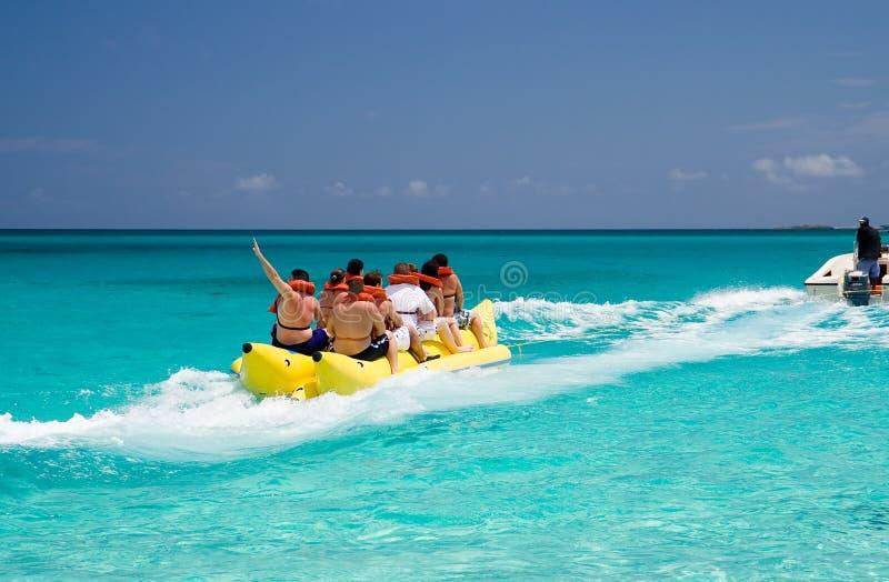 Barca di banana fotografia stock libera da diritti