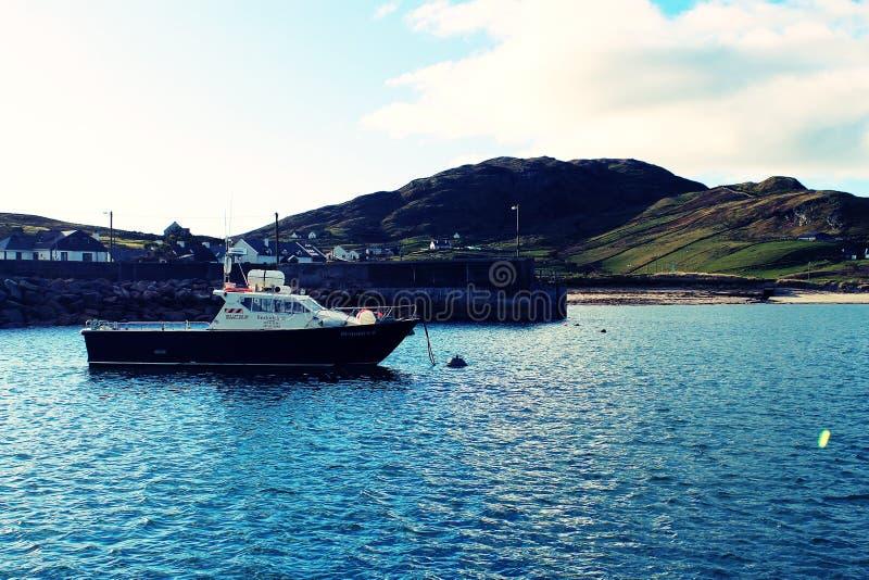Barca di Clare Island immagini stock libere da diritti