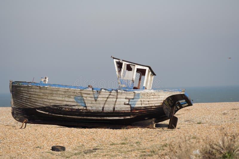 Barca di Dungeness fotografia stock