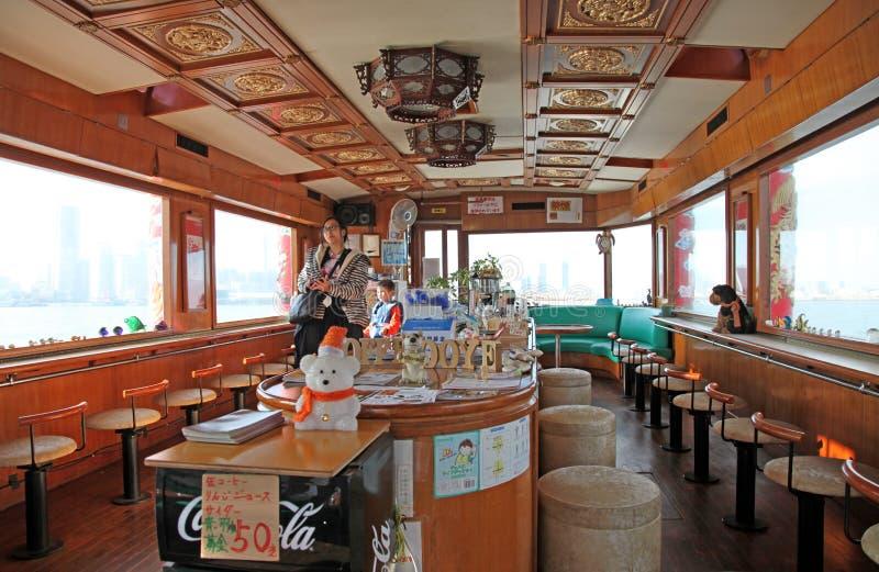 BARCA DI GIRO A YOKOHAMA, GIAPPONE fotografia stock