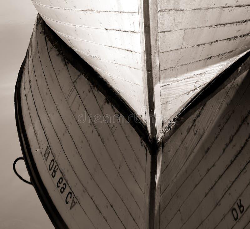 Barca di legno, fiume di Colombia fotografia stock libera da diritti