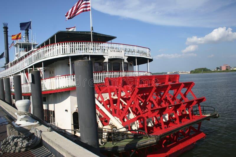 Barca di Mississipi immagine stock