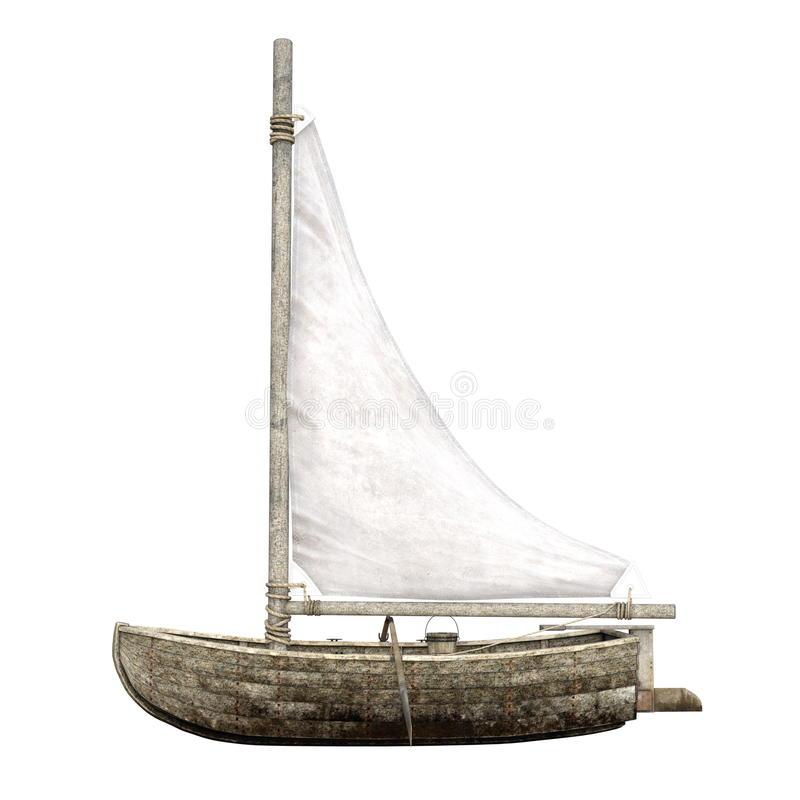 Barca di navigazione illustrazione vettoriale