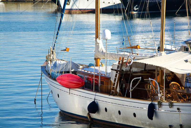 Barca di navigazione classica fotografia stock libera da diritti