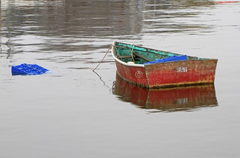 Barca di riga di Rockport immagine stock libera da diritti