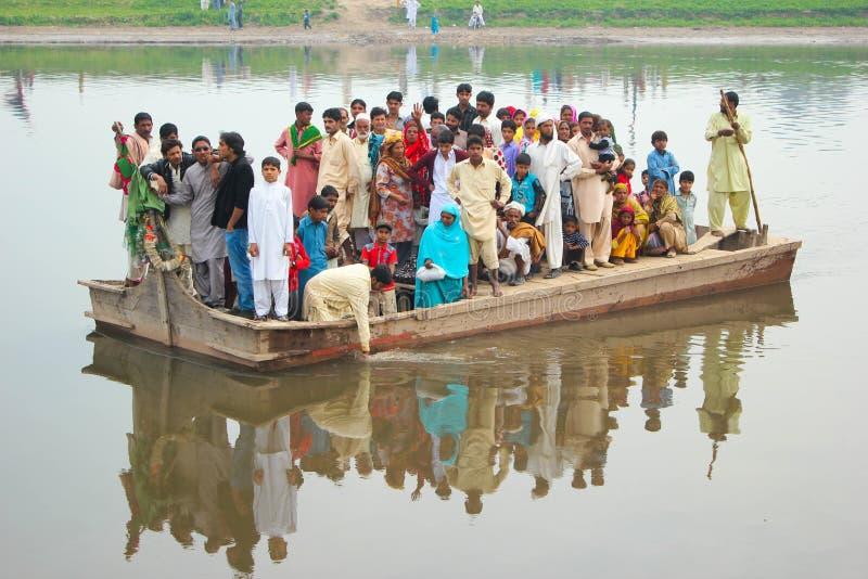 Barca di trasporto di morte fotografie stock