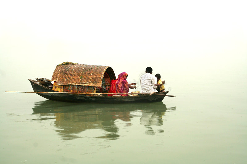 Barca domestica fotografia stock libera da diritti