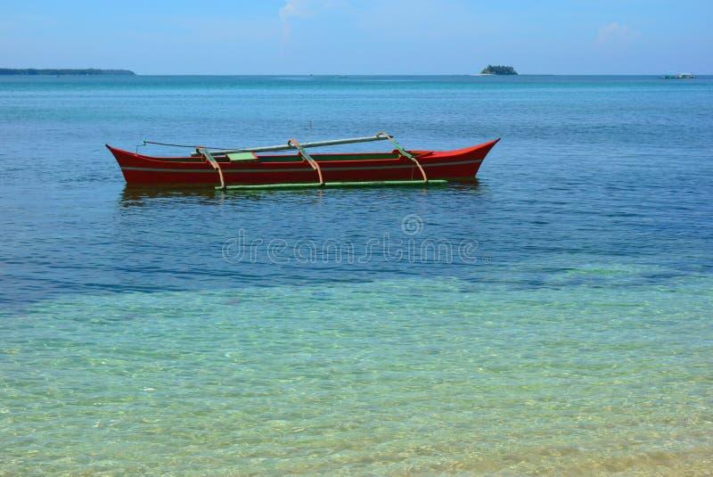 Barca filippina fotografie stock libere da diritti