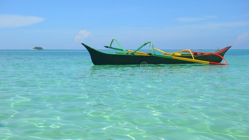 Barca filippina fotografia stock libera da diritti